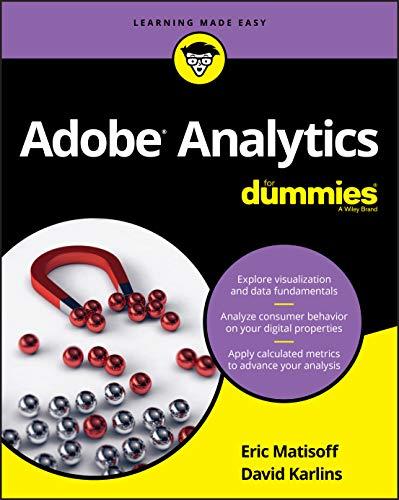 Adobe Analytics For Dummies By David Karlins