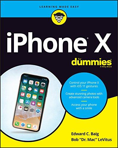 iPhone X For Dummies By Edward C. Baig