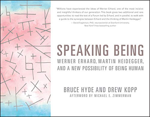 Speaking Being By Bruce Hyde