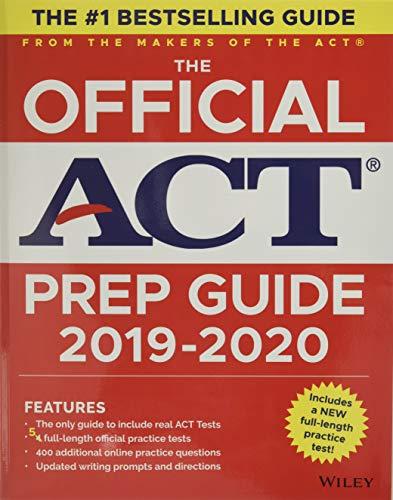 The Official ACT Prep Guide 2019-2020, (Book + 5 Practice Tests + Bonus Online Content) von ACT