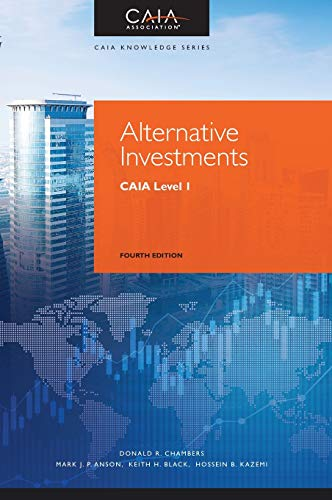 Alternative Investments By Donald R. Chambers
