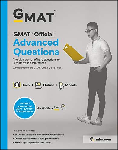 GMAT Official Advanced Questions By GMAC (Graduate Management Admission Council)
