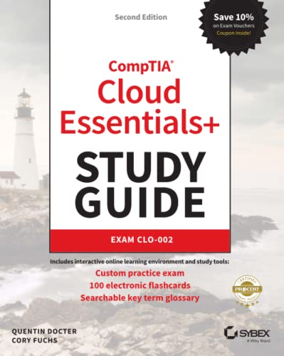 CompTIA Cloud Essentials+ Study Guide By Quentin Docter