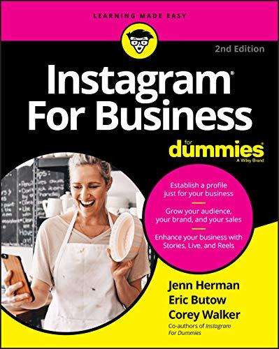 Instagram For Business For Dummies By Jenn Herman