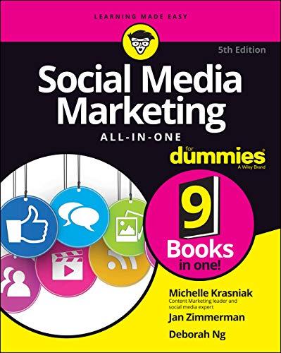 Social Media Marketing All-in-One For Dummies By Michelle Krasniak