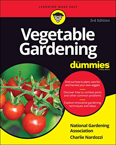 Vegetable Gardening For Dummies By National Gardening Association