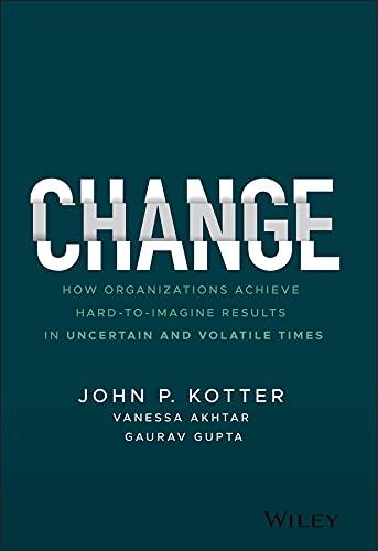 Change By John P. Kotter