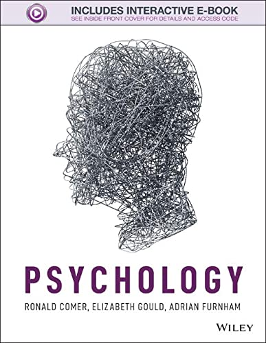 Psychology By Ronald Comer