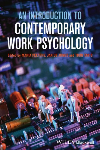 An Introduction to Contemporary Work Psychology By Edited by Maria C. W. Peeters