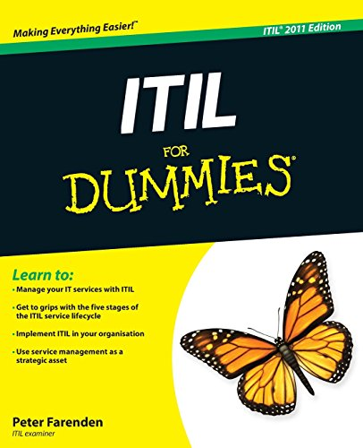 ITIL for Dummies: 2011 by Peter Farenden
