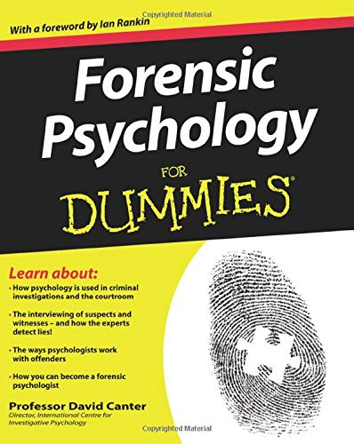 Forensic Psychology For Dummies By David D. Canter