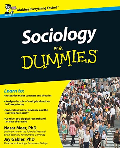 Sociology For Dummies by Nasar Meer