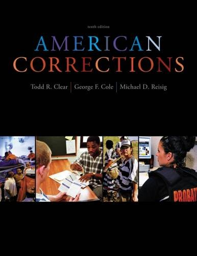 American Corrections By George Cole (University of Connecticut)