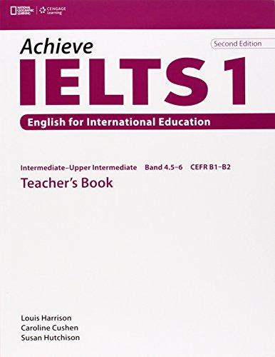 Achieve IELTS 1 Teacher Book - Intermediate to Upper Intermediate 2nd ed By Louis et al Harrison