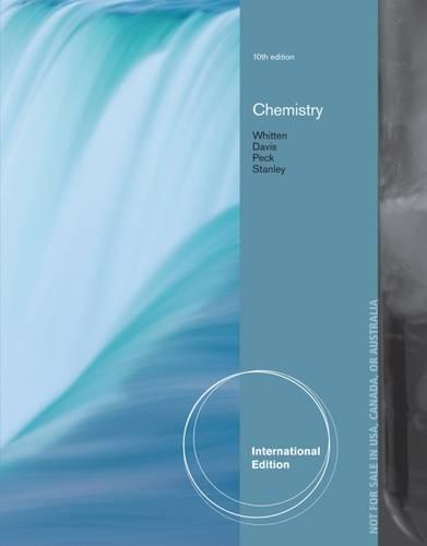 Chemistry, International Edition By Raymond Davis (University of Texas, Austin)