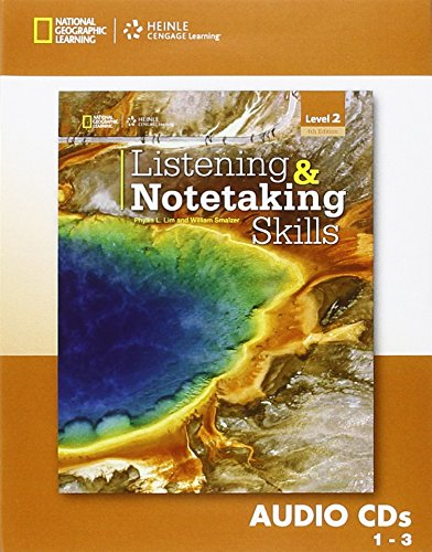 Listening and Notetaking Skills 2 - 4th ed - Audio CD - Upper Intermediate By Lim Smalzer