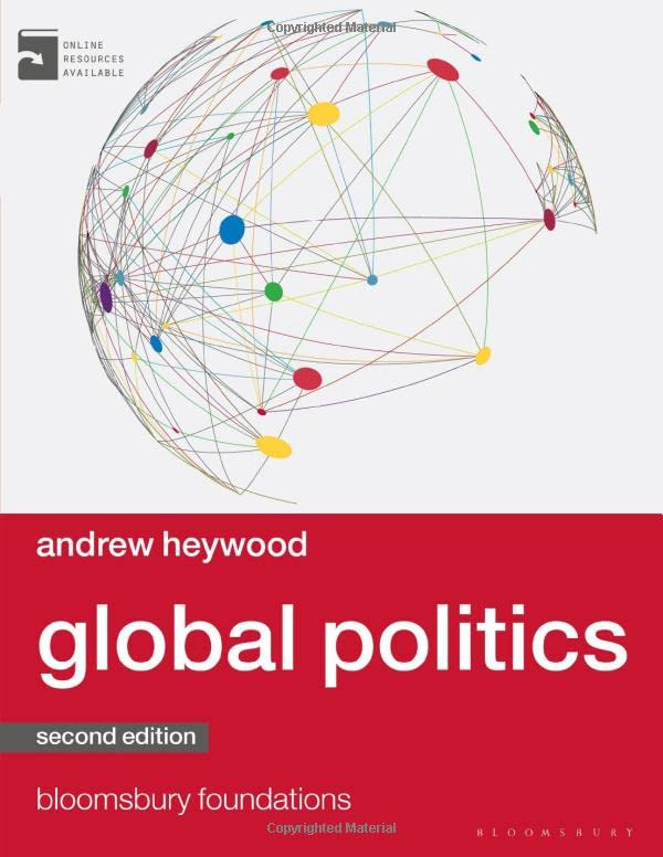 Global Politics (Palgrave Foundations Series) By Andrew Heywood