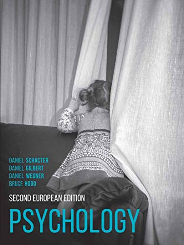Psychology: Second European Edition By Bruce Hood