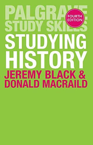 Studying History By Jeremy Black