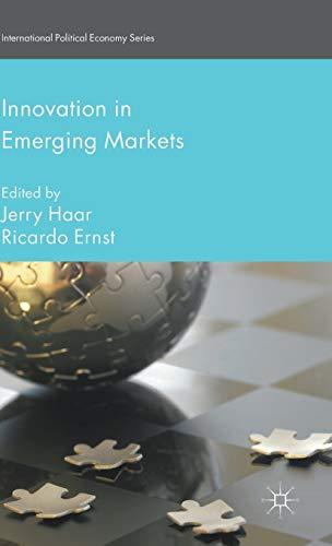 Innovation in Emerging Markets By J. Haar