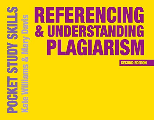 Referencing and Understanding Plagiarism By Kate Williams