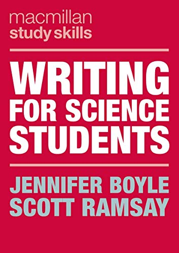 Writing for Science Students By Jennifer Boyle