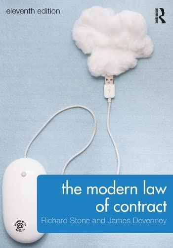The Modern Law of Contract by Richard Stone