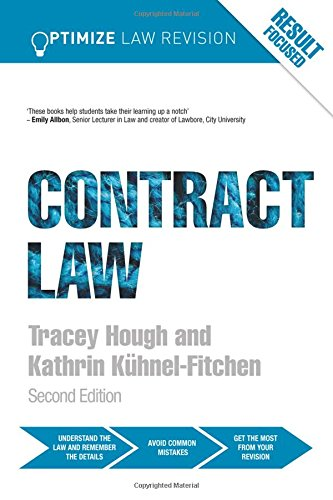 Optimize Contract Law By Kathrin Kuhnel-Fitchen (Robert Gordon University, UK)