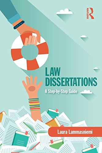 Law Dissertations By Laura Lammasniemi