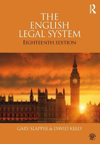 The English Legal System: 2015-2016 By Gary Slapper