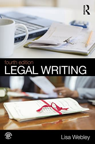Legal Writing by Lisa Webley