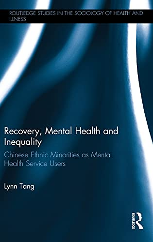 Recovery, Mental Health and Inequality By Lynn Tang (The Hong Kong Jockey Club Centre for Suicide Research and Prevention, The University of Hong Kong)