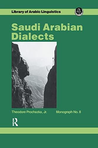 Saudi Arabian Dialects By Prochazka