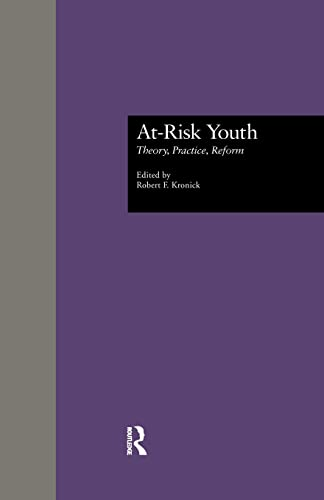 At-Risk Youth By Robert F. Kronick