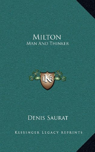 Milton von Denis Saurat