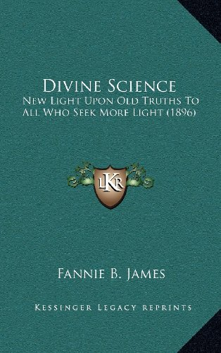Divine Science By Fannie B James