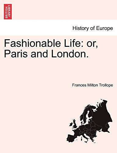 Fashionable Life By Frances Milton Trollope