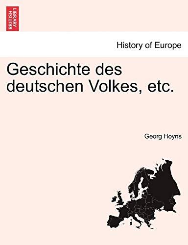 Geschichte Des Deutschen Volkes, Etc. By Georg Hoyns
