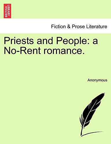 Priests and People By Anonymous