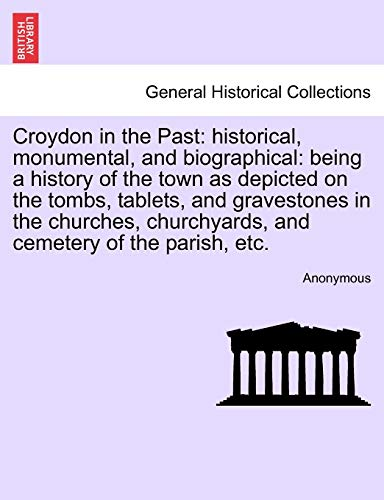 Croydon in the Past By Anonymous