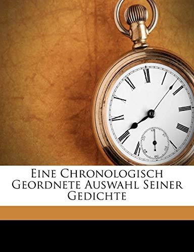 Victor Hugo. Eine Chronologisch Geordnete Auswahl Seiner Gedichte. Erstes Heft. By Victor Hugo
