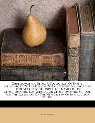 Chrestomathia By Jeremy Bentham