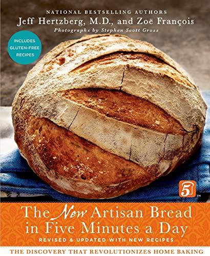Artisan Bread in Five Minutes a Day By Jeff Hertzberg