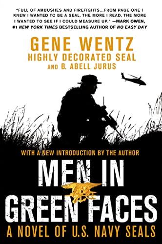 Men in Green Faces By Gene Wentz