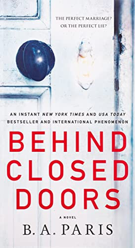 Behind Closed Doors By B A Paris