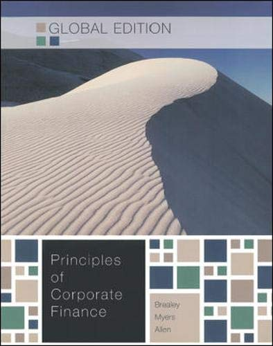PRINCIPLES OF CORPORATE FINANCE,GE By Richard A. Brealey