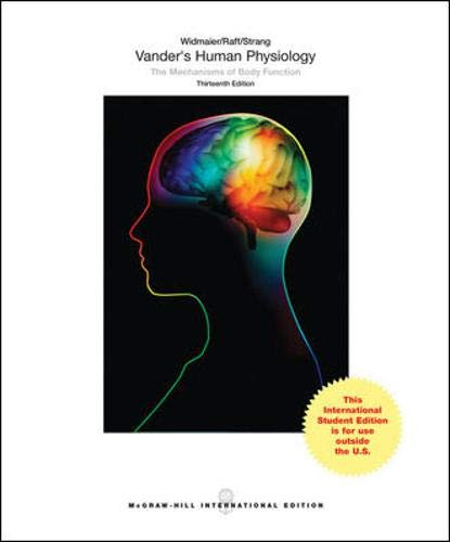 Vander's Human Physiology By Eric P. Widmaier