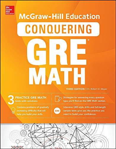 McGraw-Hill Education Conquering GRE Math, Third Edition By Robert E. Moyer