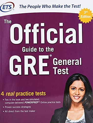 The Official Guide to the GRE General Test, Third Edition By Educational Testing Service