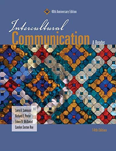 Intercultural Communication By Edwin McDaniel